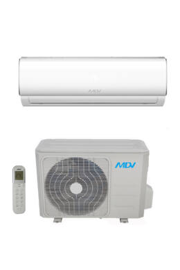 MDV RAG-026B-SP  inverteres oldalfali monosplit klímaberendezés 2,6KW R32