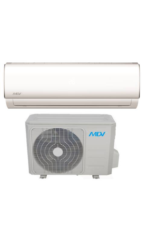MDV RAM-026B-SP  inverteres oldalfali monosplit klímaberendezés 2,6KW R32