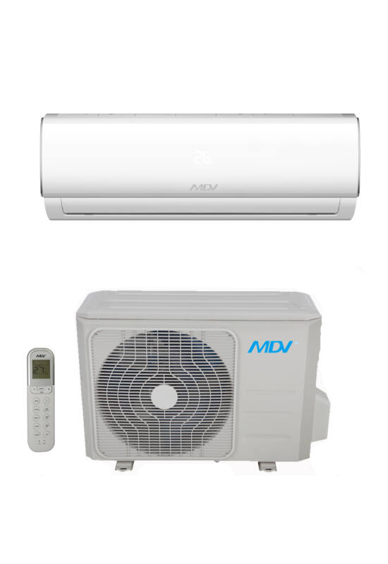 MDV RAG-053B-SP  inverteres oldalfali monosplit klímaberendezés 5,3KW R32